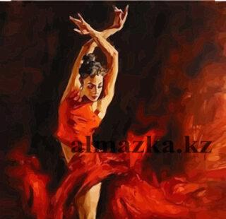 MKAZ12 Набор алмазный «Балерина в красном»