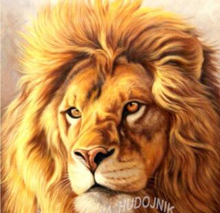 MKAZ33 Набор алмазный «Царь — Лев»