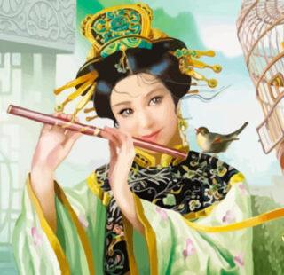 KAZ027 Раскраска по номерам «Девушка с флейтой»