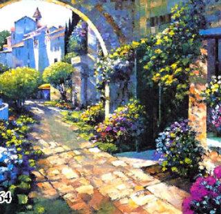 KAZ064 Раскраска по номерам «Венецианский пейзаж»