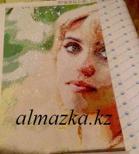 пример портрет алмазный 40х50