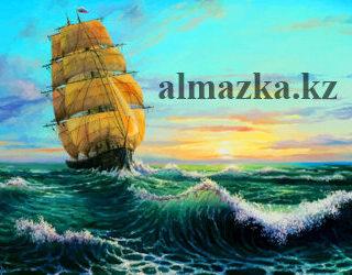 MKAZ09 Набор алмазный » Корабль в море»