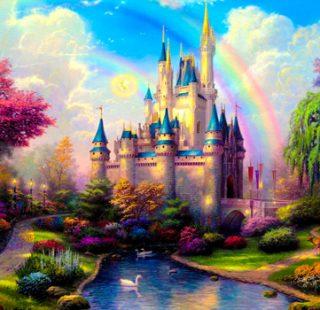 MKAZ519 Набор алмазный «Волшебный замок»