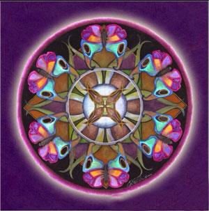 MKAZ607 Алмазный набор  Мандала «Спокойствие»