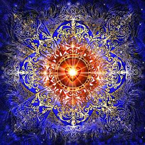MKAZ608 Алмазный набор  Мандала «Любовь и счастье»