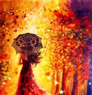 MKAZ625 Набор алмазный «Осенняя прогулка»