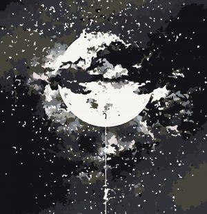 KAZ452 Раскраска по номерам «К звездам»