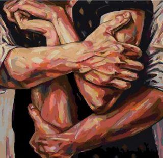 KAZ455 Раскраска по номерам «Ты и я»