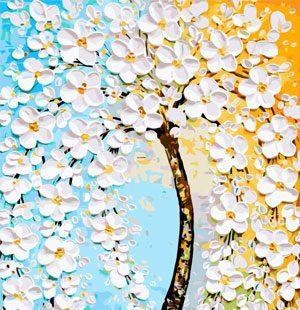 MKAZ662 Набор алмазный «Цветущее дерево благополучия»