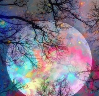 KAZ673 Раскраска по номерам «Волшебная луна»